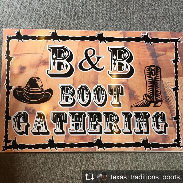 BB Boot Makers Gathering Invite